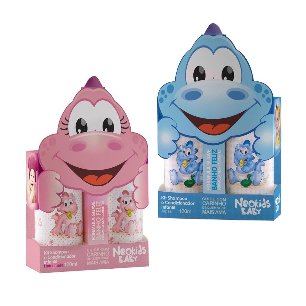 Kit Shampoo e Condicionador Infantil