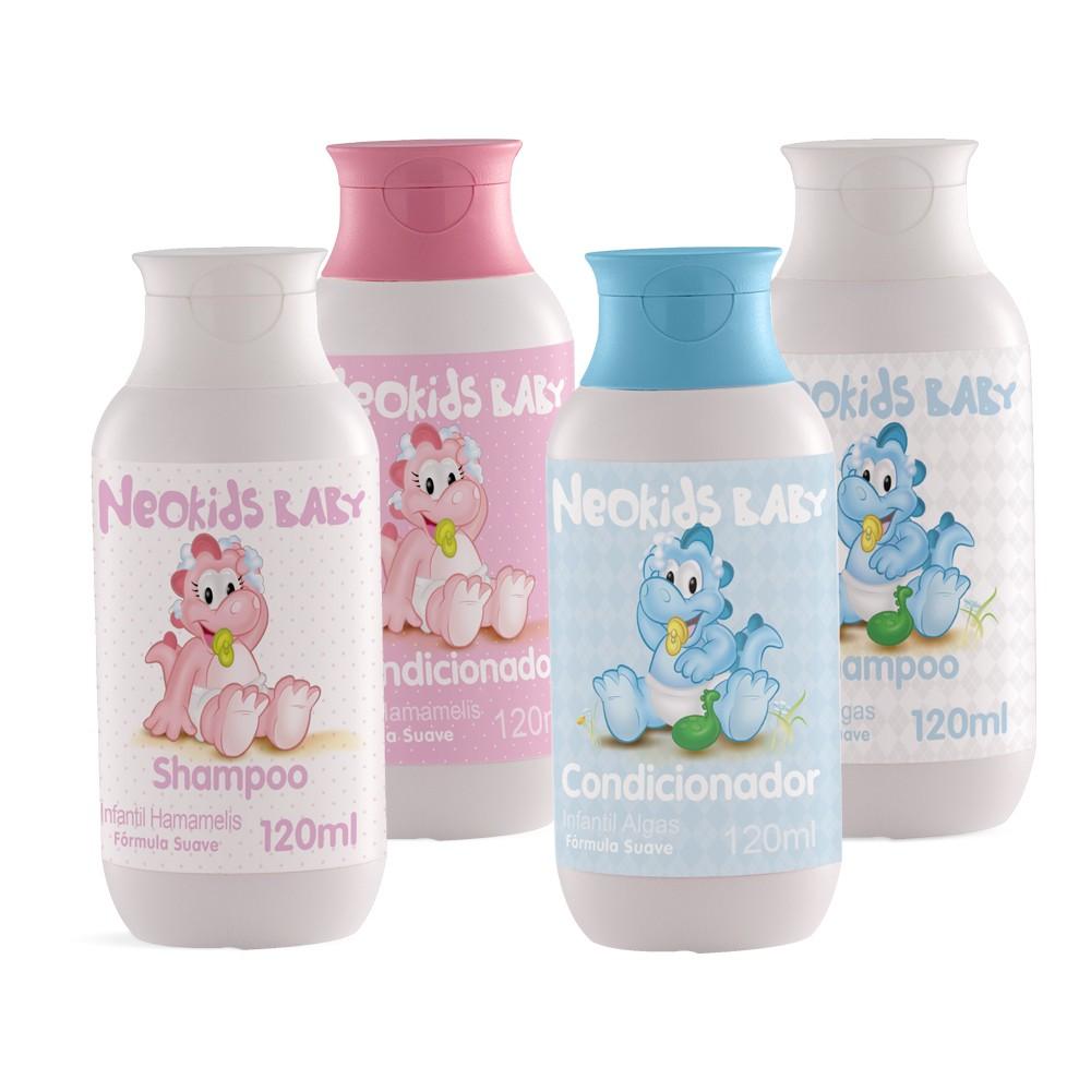 Shampoo e Condicionador Algas e Hamamelis